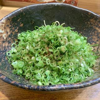 汁なし坦坦麺 ネギ盛り(汁なし担担麺専門 キング軒 銀座出張所)