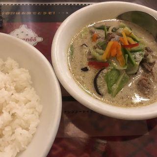 Green Curry(グリーンカリー)(タイカリーピキヌー )