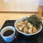 辛いもりそば+天ぷら