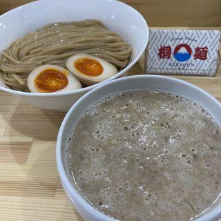 鮭と鶏のつけ麺 味玉トッピング(桐麺 )
