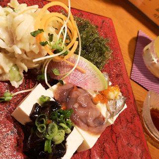 沖縄冷菜の盛り合わせ(Aticoco)