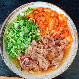 肉キムチ(裕英うどん)