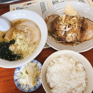 焼きチャーシュー定食(ファミリー亭 )