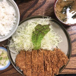 上ロースかつ定食(とんかつ藤芳 本店 )