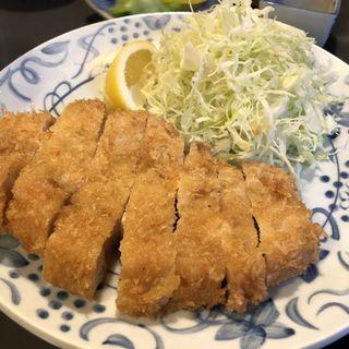 ロースとんかつ定食(とんかつ岩松 )