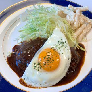 ハンバーグステーキランチ(キッチンニュー早苗 )