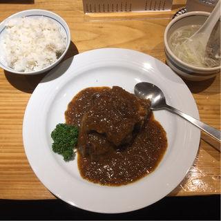 たんシチュー定食(牛たん料理 閣 電力ビル店)