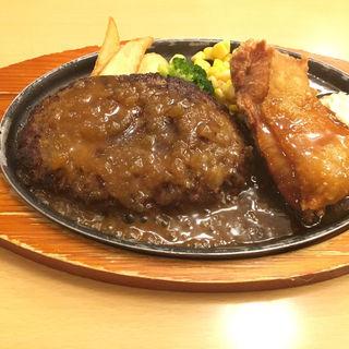 ハンバーグ&チキン南蛮(ジョイフル 仙台岩切店 )