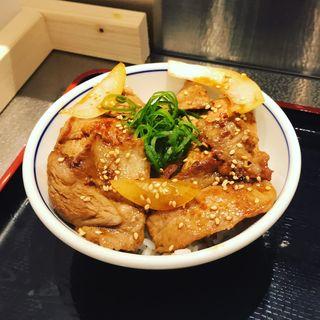 焼豚ごはん(松戸富田麺絆 )