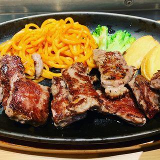 和風おろしカットステーキ定食(やよい軒 堂山店 )
