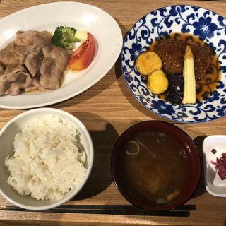 ランチ定食(酒食堂 虎ノ門蒸留所)