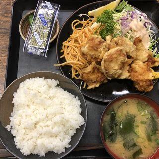 鶏のからあげ定食(定食の店 きよし (キヨシ))