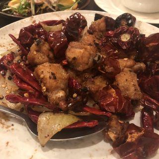 鶏の唐辛子炒め(ヤッチャイ )
