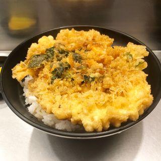 かき揚げ丼(坂町の天丼 (さかまちのてんどん))
