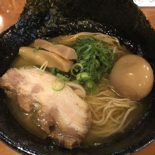 濃厚鶏豚白湯麺(らーめんダイニング 庵 )