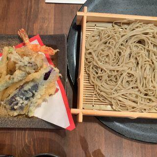 セイロと天ぷら