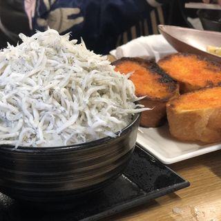 しらす丼(満幸商店 )