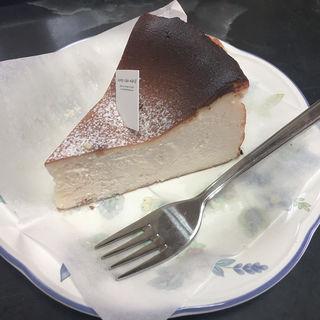 バスクチーズケーキ(チーズケーキマニア)