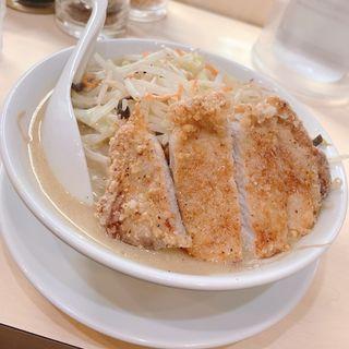 白味噌 豚から揚げ盛り