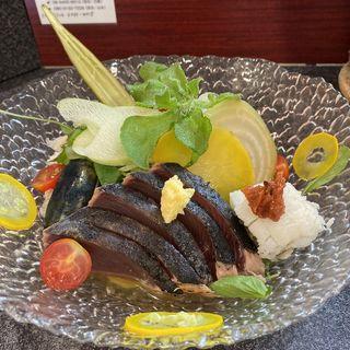 涼三 魚冷やし(烈志笑魚油 麺香房 三く)