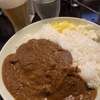 ビーフカレー(辛口飯屋 森元 )