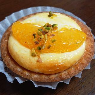 オレンジヨーグルトチーズタルト