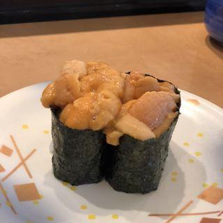 ウニ(廻鮮寿司 塩釜港 塩釜店 (かいせんずし しおがまこう))