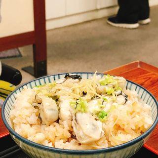 牡蠣ご飯(京味菜 わたつね )