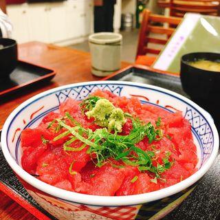 鉄火丼(京味菜 わたつね )