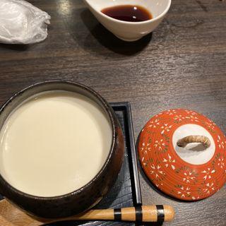 やわらか杏仁豆腐