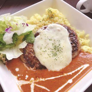 ハンバーグバターカリーライス(YETI CAFE)