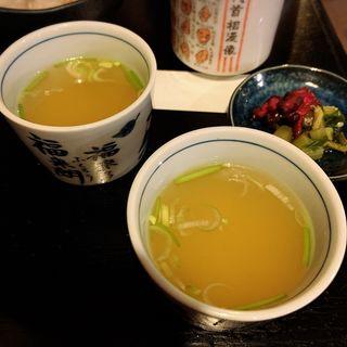 鶏スープ(串若丸 本店 (くしわかまる))