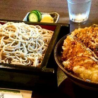 せいろ+小天丼(かき揚げ)(日本蕎麦 一辰)