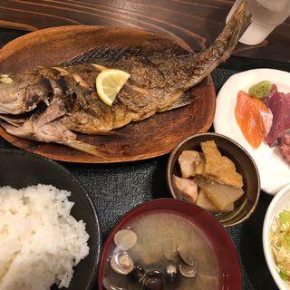 いさき塩焼き(銀座漁港 快海)