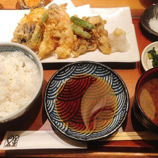 天ぷらランチ(魚金 本店)