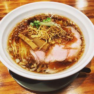 玉葱中華そば(柴崎亭 梅ヶ丘店)