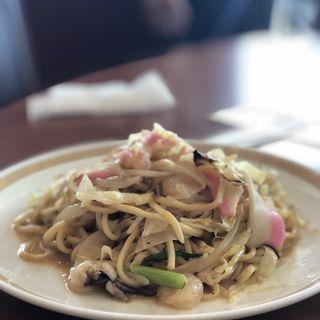 皿うどん(太麺)