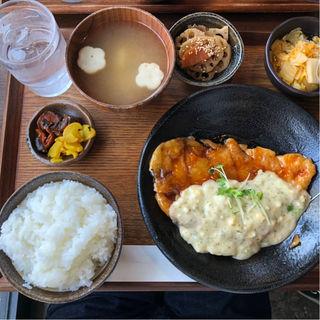 チキン南蛮定食(なごみ食堂 )
