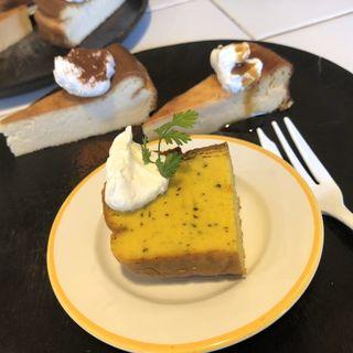 チーズケーキ3種プレート(ひつじ茶房)