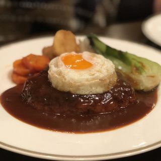 ハンバーグ(洋食SAEKI (ヨウショクサエキ))