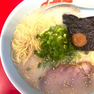 朝ラーメン(ラーメン山岡家 南2条店)