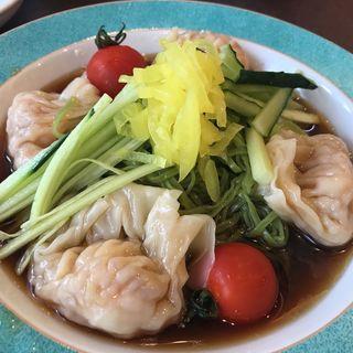 香港翡翠雲吞冷麺