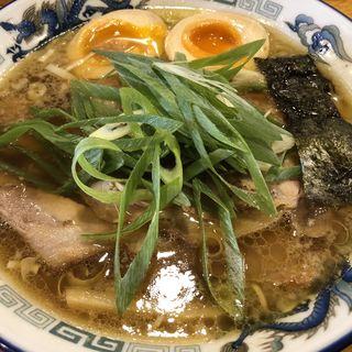 味玉入り蔵出し醤油麺(もんど )