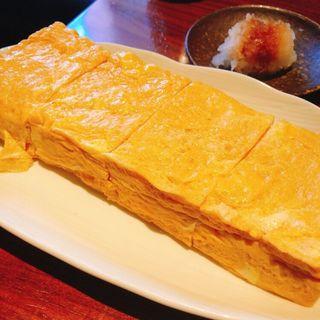 蕎麦屋の玉子焼き(しろう )