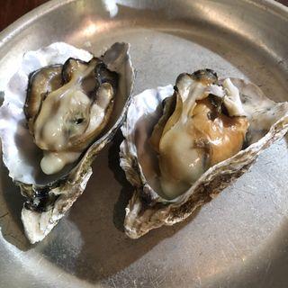 焼き牡蠣(食べ放題)