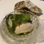 旬の夏豆と牡蠣のマリナート