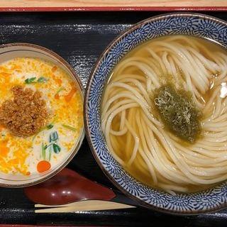 豆乳大阪つけ麺(き田たけうどん)