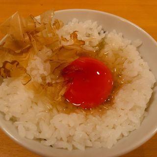卵かけご飯(猫と卵 )