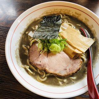 濃厚煮干(らー麺 山さわ)