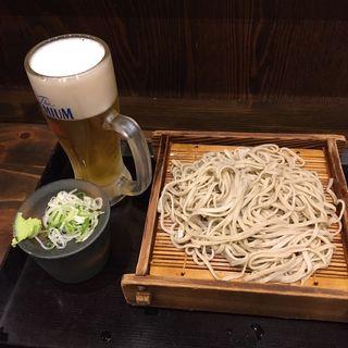 もりそば(蕎麦冷麦 嵯峨谷 阿佐ヶ谷店)